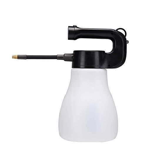 Huachaoxiang Pulverizador Eléctrico, Lata De Riego 3L con Gran Capacidad, Adecuado para Al Aire Libre, Interiores, Spray De Agua Estéril, Botella De Pulverización Eléctrica para Plantas,Blanco