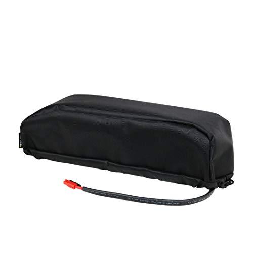 Wallen Power Electric Bike Lithium Battery Bag Frame Bag, Portable Li-Battery Package DIY Ebike Battery Bag for Hailong Battery/Dolphin/Tiger Shark/Jumbo Shark Battery
