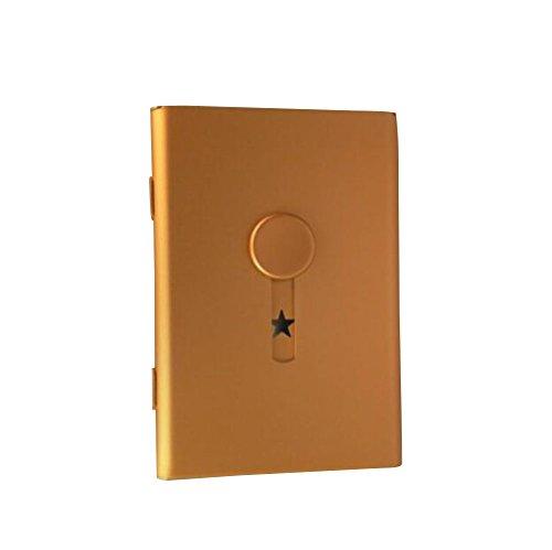 Nuevo diseño de la tarjeta de visita titular Push-tipo de la caja de tarjeta