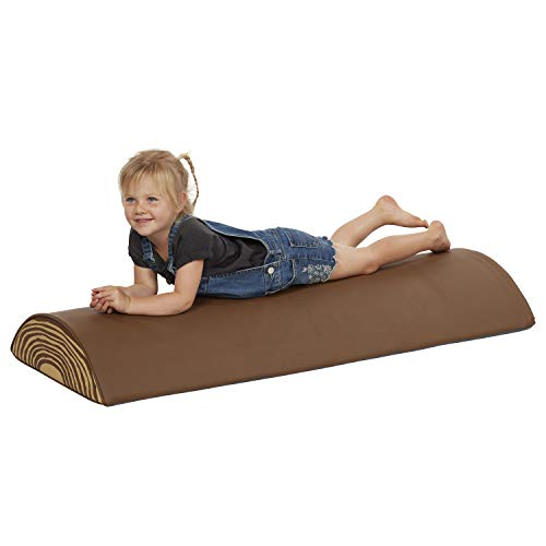 Check Out This ECR4Kids Tree Log Roll (Long) - Foam Obstacle Climber for Kids - Imaginative Wood Des...