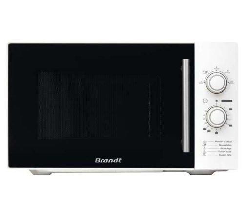 Brandt SM2602W 26L 900W Blanc micro-onde - Micro-ondes (26 L, 900 W, Rotatif, Blanc, 32 cm, 1 m)