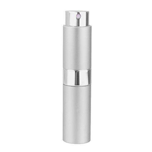 8ml Voyage Portable Mini Flacon Rechargeable Atomiseur de Parfum Vide - Argent