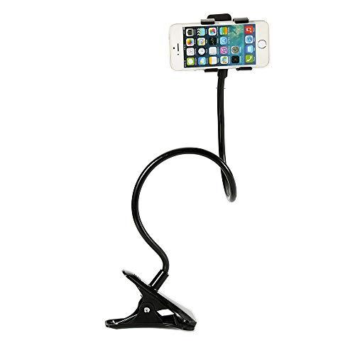 Jiudong Gooseneck Phone Holder Rotera Fritt Lat Fästehållare Lat Klipphållare Med Flexibel Lång Armfäste Grepp För Skrivbord Säng Kontor Kök