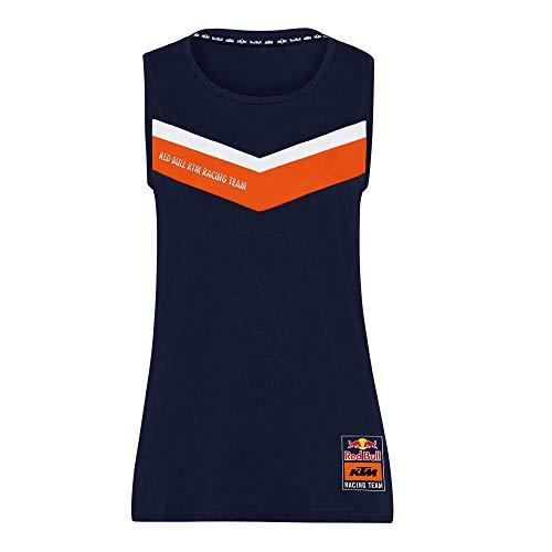 Red Bull KTM Fletch Tank Top, Mujeres X-Small - Original Merchandise