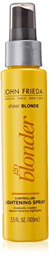 John Frieda Sheer Blonde Go Blonder Lightening Spray, 3.5 Ounce Controlled Hair Lightener with Citrus and ChamomileBlondMend Technology