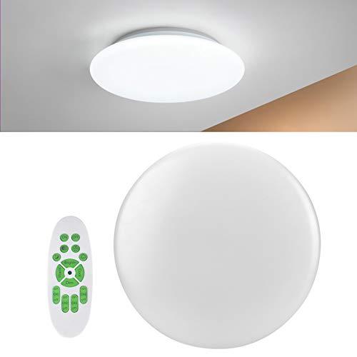 Zhat Lámpara de Techo, luz de Techo con Control de Voz Inteligente 72LED, para balcón casero