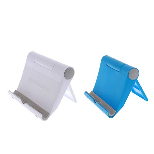 B Blesiya 2 soportes ajustables para teléfono móvil, para escritorio