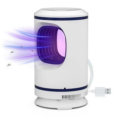 EastPoint Matainsectos, lámpara UV mata mosquitos, lámpara USB, lámpara antimosquitos, lámpara de protección contra mosquitos, lámpara eléctrica para interior