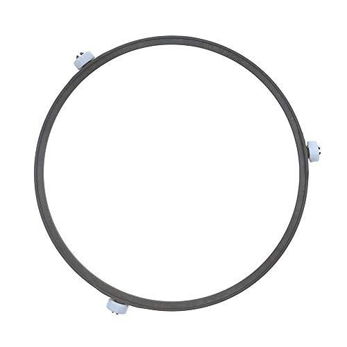 IOUVS General Microondas Partes de horno/Material de reemplazo SPS Anillo de placa giratoria Placa interior Bandeja Rodillo de soporte de anillo giratorio