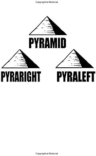 Notebook: Nerd Pyramid Pun Flat Joke Funny Gift 120 Pages, A4 (About 8,5X11 Inches / Letter), Blank, Diary