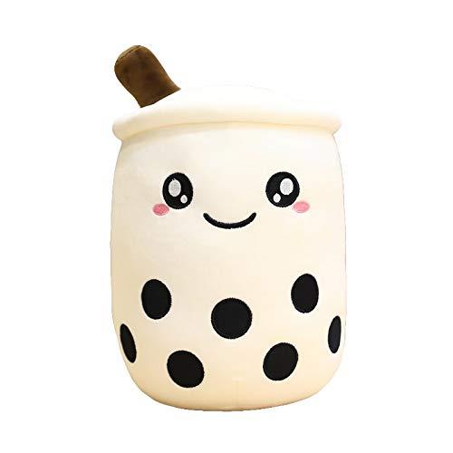 KXCAQ 24—70 cm Taza de té de Burbujas Almohada de Juguete de Peluche Comida de Peluche té de Leche muñeca Suave Taza de té de Leche Almohada cojín Regalo de cumpleaños para niños 70 cm Ojos Blancos