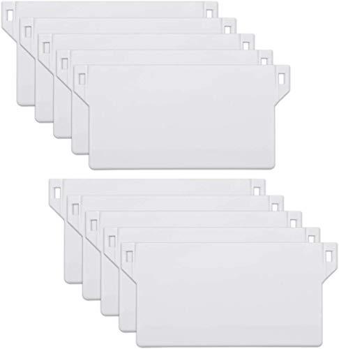 First blinds Pesos para persianas verticales de 89 mm (3.5 pulgadas) – Repuesto de listones de repuesto – Blanco (10)