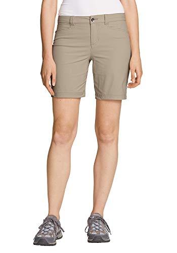 Eddie Bauer Damen Horizon Shorts, Gr. 10 (40), Auster
