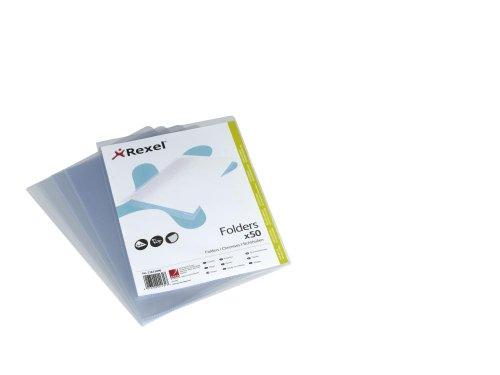 Rexel 21673090 Sichthülle Standard A4, 120 µ, glasklar