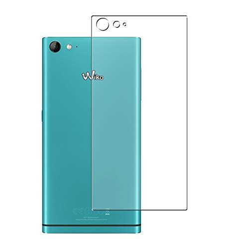 Vaxson 2 Stück Rückseite Schutzfolie, kompatibel mit Wiko Highway Star 4G, Backcover Skin TPU Folie [nicht Panzerglas/nicht Front Bildschirmschutzfolie]