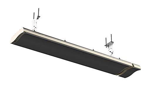 Heizpanel Infrarotstrahler Dunkelstrahler mit IR-C Technologie 2400 Watt