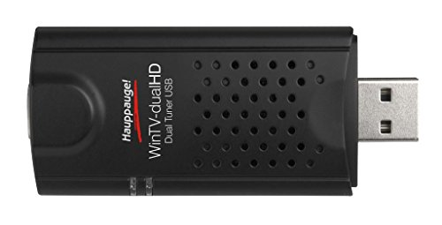 Hauppauge WinTV-dual HD - Dual, Triple Mode, TV Tuner for Freeview (DVB-T), Freeview HD (DVB-T2) and Cable (DVB-C) broadcasts