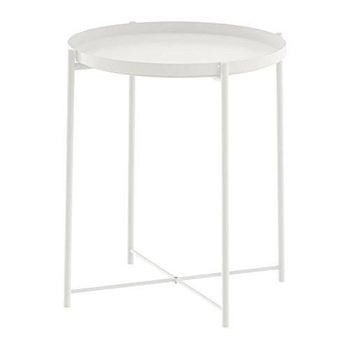 IKEA/イケア GLADOM トレイテーブル ホワイト 50337820