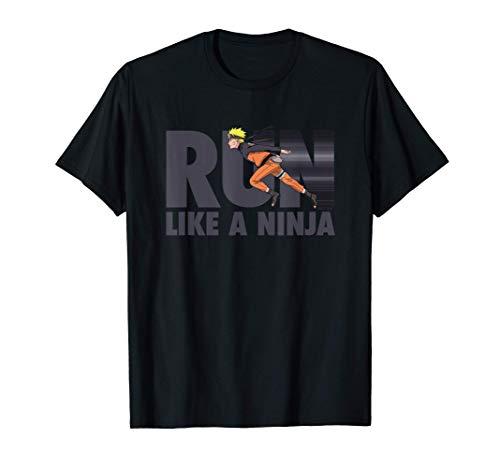 Naruto Shippuden Naruto Run Like A Ninja T-Shirt