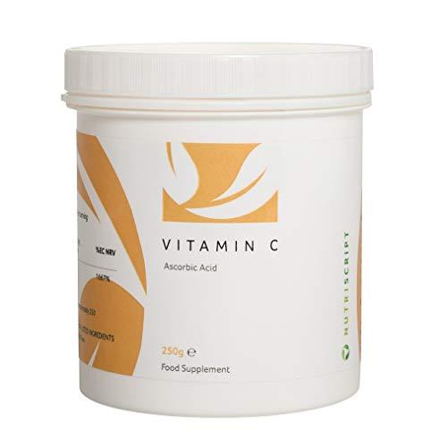 Vitamin C (Quali-C Ascorbic Acid) 250g - Nutriscript *New Look*