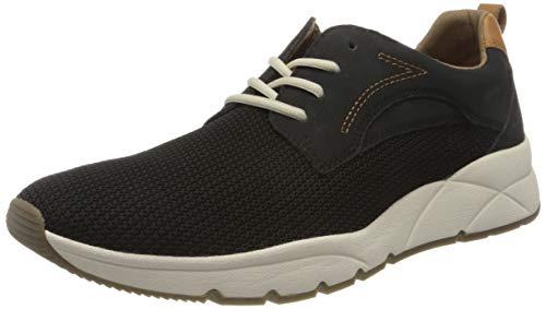 camel active Herren Run Sneaker, Schwarz (black 04), 39 EU (6 UK)