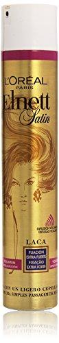 L'Oreal Paris Elnett Laca de Peinado Volumen Extrafuerte - [paquete de 3]