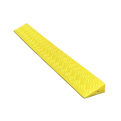 SZQ-Ramps Indoor Step Mat, Lengthen Yellow Threshold Pad Plastic Draagbare Slope Pad Fiets Scooter Kerb Ramps Hoogte: 3.5CM/4CM Ramps pad
