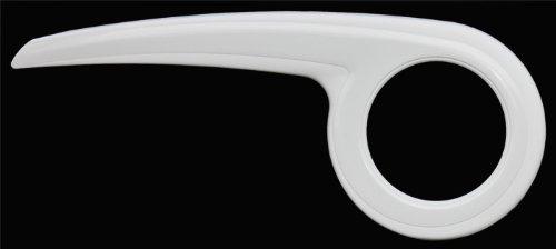 DEKAFORM Designer Kettenschutz Performance-Line 219-2 für BBF Diamant Kalkhoff Kynast Peugeot Puch Fahrrad 44/46/48 Zähne * Weiss