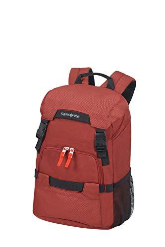 Samsonite Sonora - 14 Pollici Zaino Porta PC, 44 cm, 23 L, Rosso (Barn Red)