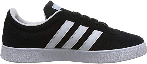 adidas Damen VL Court 2.0 Fitnessschuhe, Schwarz (Negbas/Ftwbla/Aeroaz 000), 38 2/3 EU