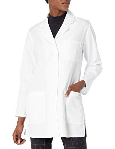 Dickies Women's 32 Inch Lab Coat, White, Large