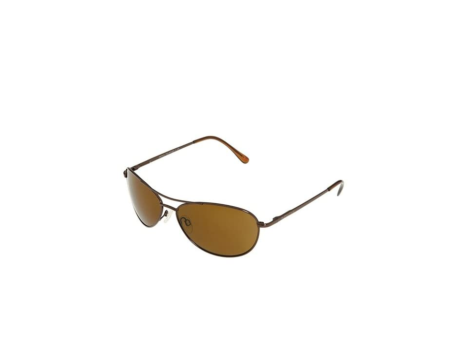 SunCloud Polarized Optics Patrol (Brown/Brown Lens) Sport Sunglasses