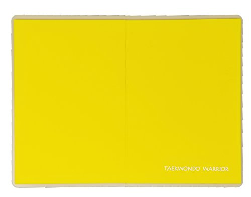 Martial Arts Rebreakable Board, Perfect Martial Arts Breaking Board for Kids & Adults, Ideal for Martial Arts, Taekwondo, Karate (Yellow)
