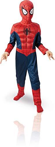Rubie's-déguisement officiel - Marvel- Déguisement Pour Enfant Panoplie Luxe 3d Eva Spiderman Ultimate - Taille M- 154635M