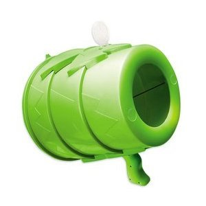 Airzooka Air Blaster- Blows 'Em Away - Air Toy for Adults and Children Ages 6 and Older - Green