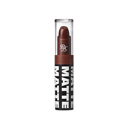 Ruby Kisses Matte Lipstick, 0.12 Ounce (NUT-ELLA)