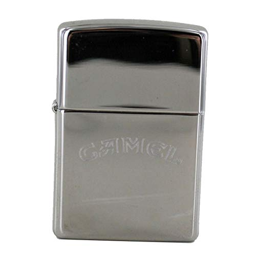 Zippo 1110010 Camel Words only - Chrome high Polished