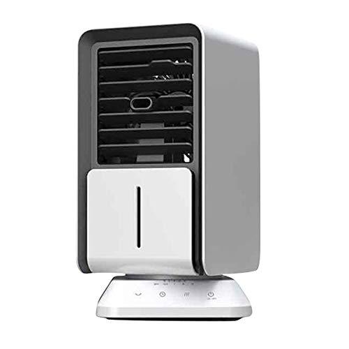 QY-Youth Aire Acondicionado Aire Cooler Mini Fan AirConductionador portátil para habitación Home Air Enfrineramiento Desktop USB Cargando Aire Acondicionado Ventilador