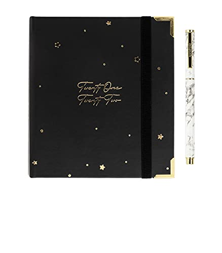 Takenote Agendas - Scarlett - Agenda Planner Pocket Académico 2021- 2022- Semana Vista - Dietario Castellano e Inglés - 224 páginas - Tamaño A6 - 13 x 17 cm- Incluye Bolígrafo y Pegatinas