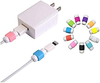 10PCS Cable Saver Protector for USB Lightning Cable iPhone Earphones Protector, Random Color