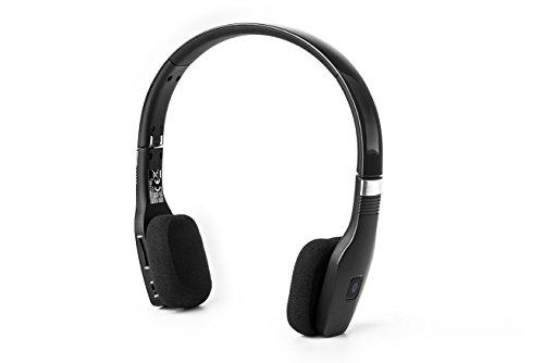 ELBE ABT-032-NE - Auriculares de diadema Bluetooth (plegables, con micrófono), color negro