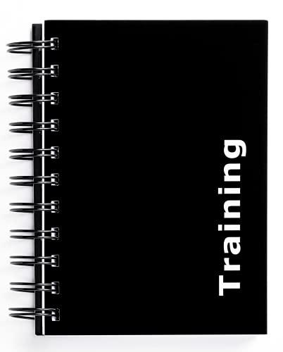 Agenda per gli allenamenti di body building, con 180pagine, nero