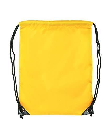 takestop® Bolsa con cordones de nailon impermeable, 44 x 33,5 cm, bolsa...