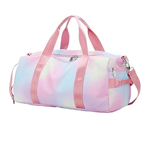 primrosely Bolsa de deporte grande, bolsa de viaje, bolsa de fin de semana, bolsa de viaje, bolsa de noche, bolsa de gimnasio, bolsa de aseo, paquete de almacenamiento portátil