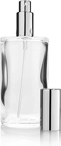 L-entcy Parfum Voyage en plein air Vaporisateur 100ml Parfum Vaporisateur Refillable élégant Vaporisateur avec pompe, Atomiseur de parfum Vaporisateur