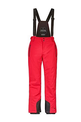 Killtec Enosh skibroek voor heren, functionele broek met afneembare bandjes en randbescherming