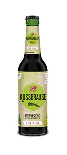 Kussbrause Natural 12 x 330 ml Mehrwegglasflasche inkl. Pfand und Versand