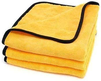 Cobra Gold Plush Jr Microfiber Towel 16 x 16 inches  3