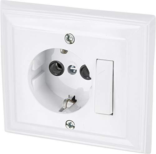 Up – Enchufe con interruptor universal de – Protección