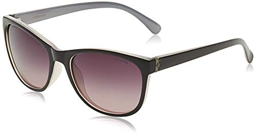 Polaroid P8339 JR C6T Gafas de sol, Morado (Purple/Burgundy Shaded Polarized), 55 para Mujer
